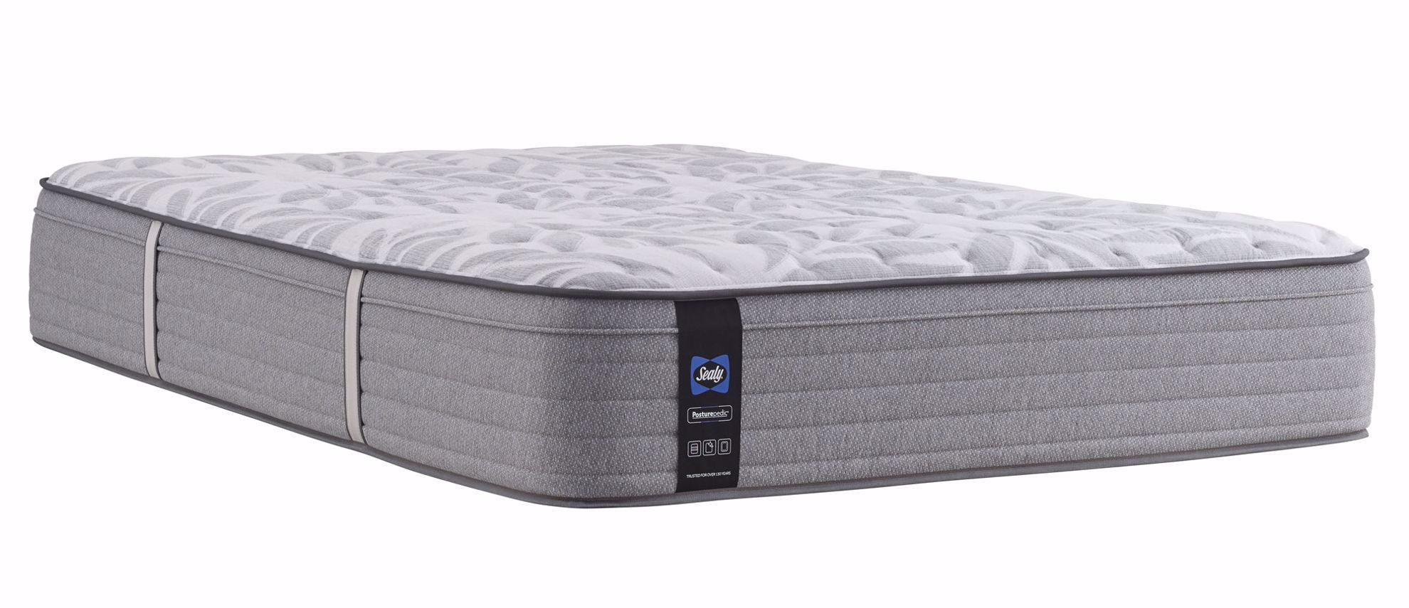 Picture of Posturpedic Silver Pine Soft Faux Euro Pillowtop Queen Mattress