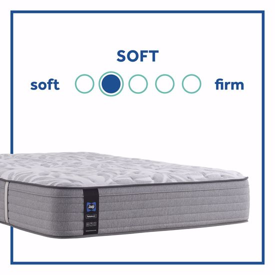 Picture of Posturpedic Silver Pine Soft Faux Euro Pillowtop California King Mattress