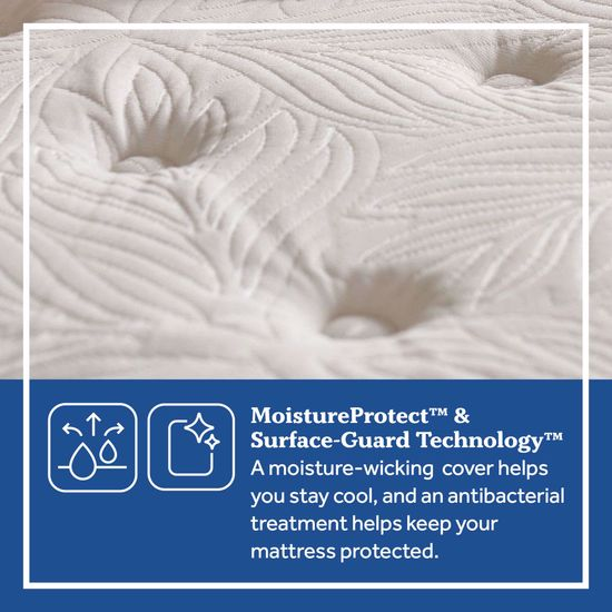 Picture of Posturpedic Summer Rose Soft Faux Euro Pillowtop Twin XL Mattress