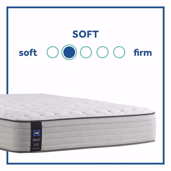 Picture of Posturpedic Summer Rose Soft Faux Euro Pillowtop Full Mattress
