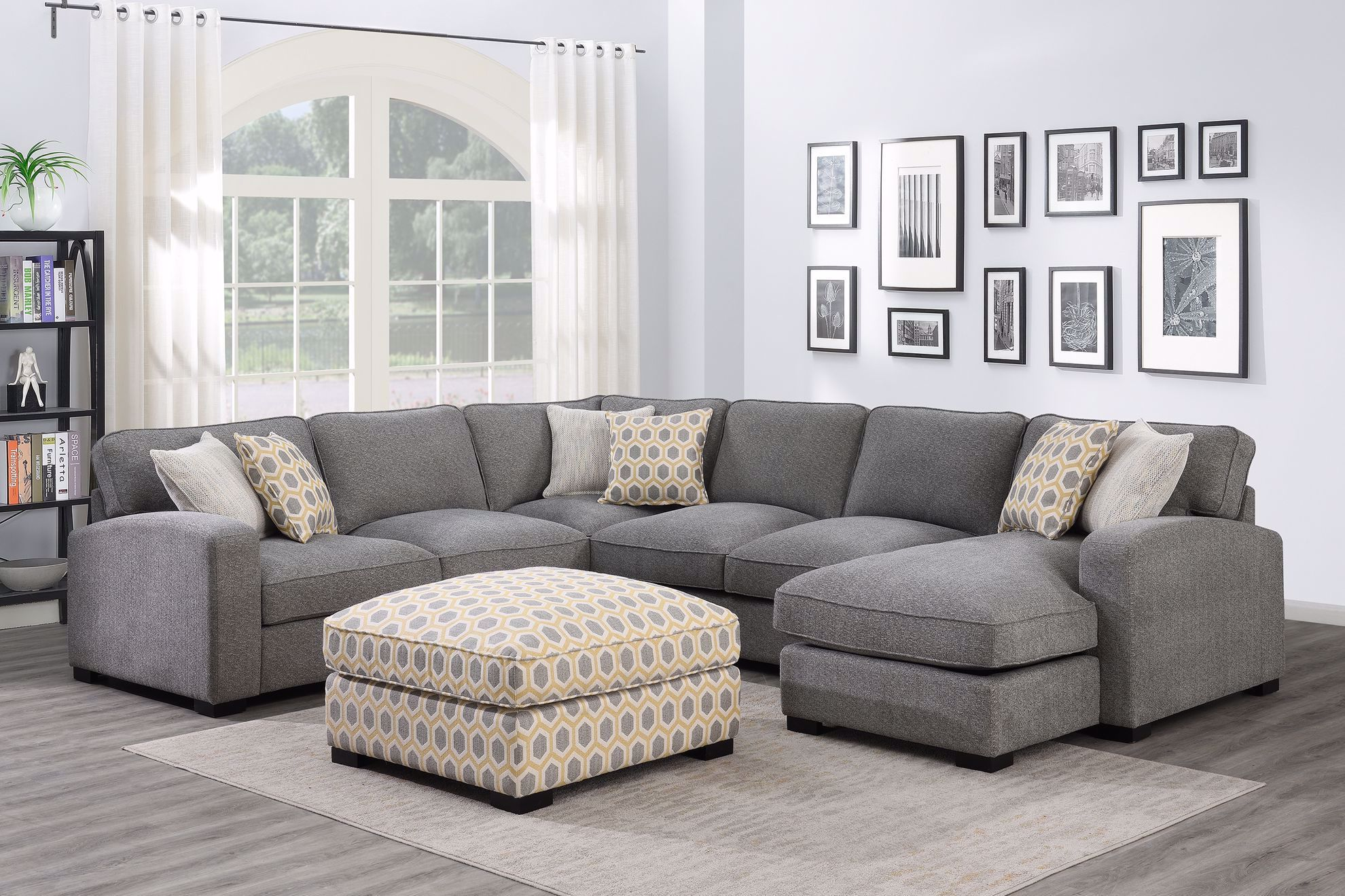 Picture of Repose Gray 3-Piece Sectional