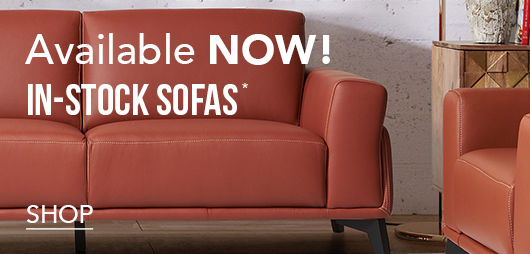Available NOW! | IN-STOCK SOFAS