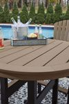 Picture of Fairen Trail Round Bar Table with Umbrella Option