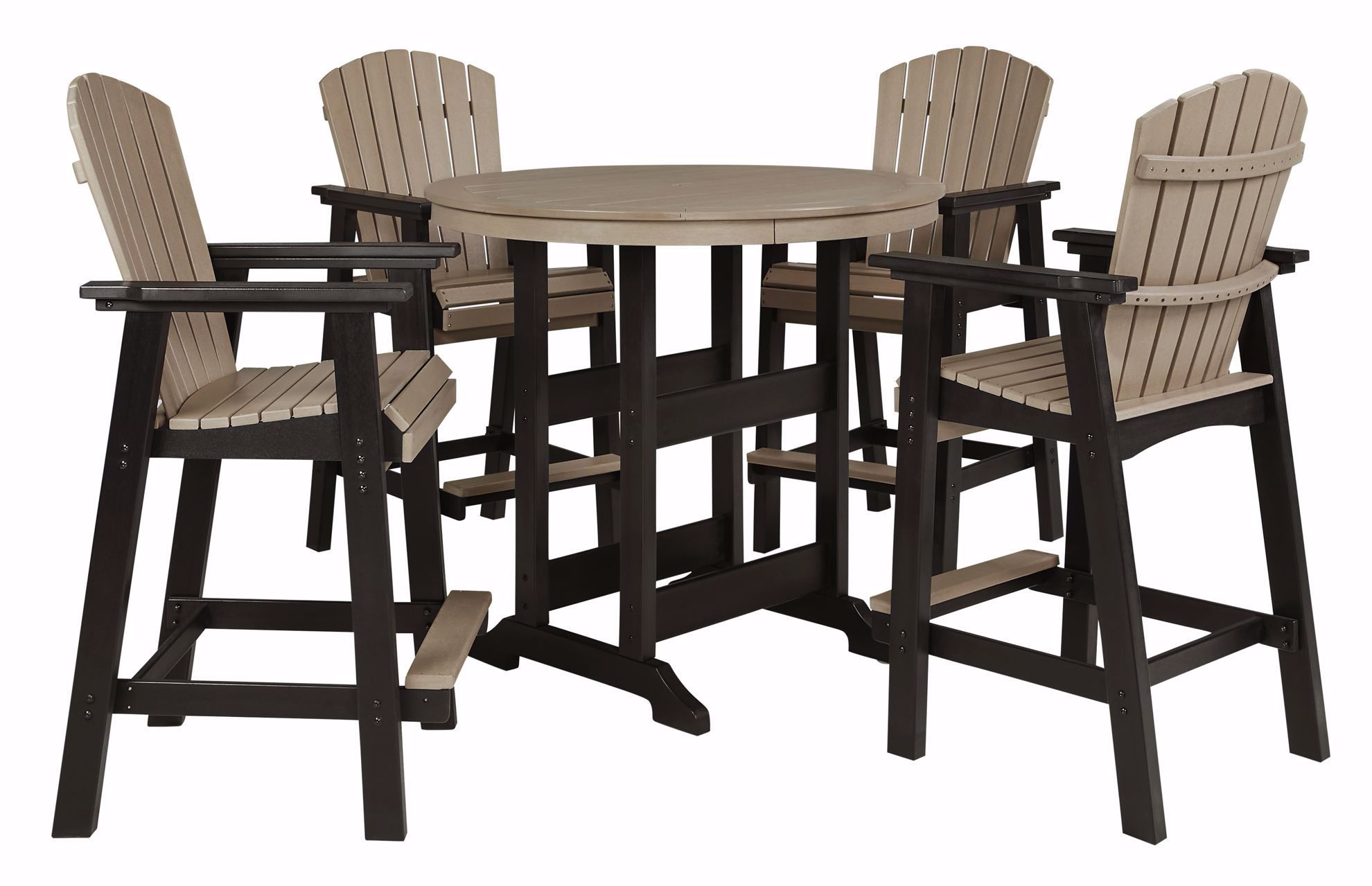 Picture of Fairen Trail Bar Table & 4 Stools
