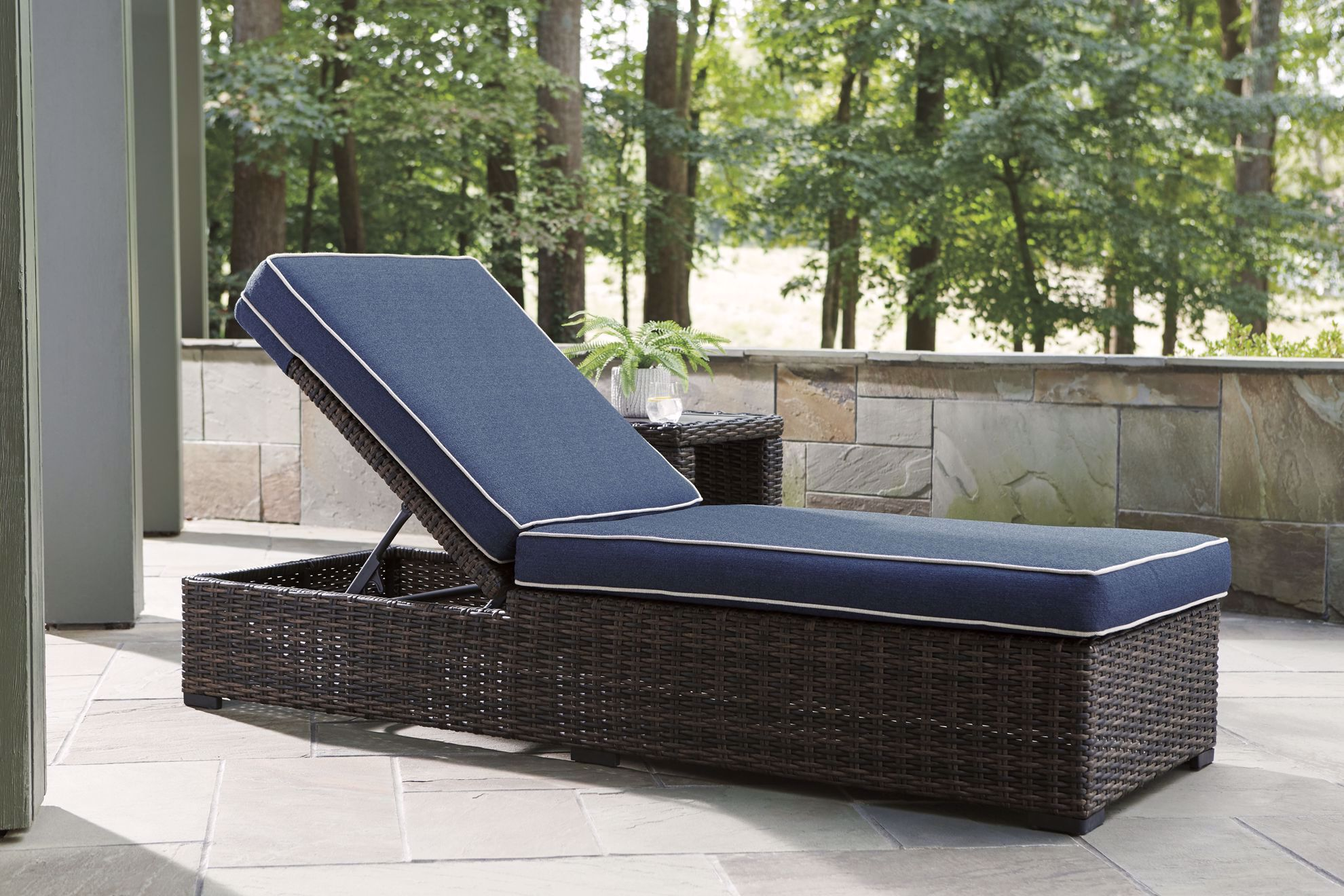 Picture of Grasson Lane Cushion Chaise Lounge