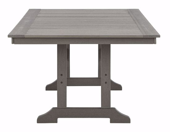 Picture of Visola Rectangle Dining Table with Umbrella Option