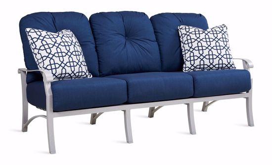 Picture of Cortland Spectrum Indigo Sofa & 2 Pillows