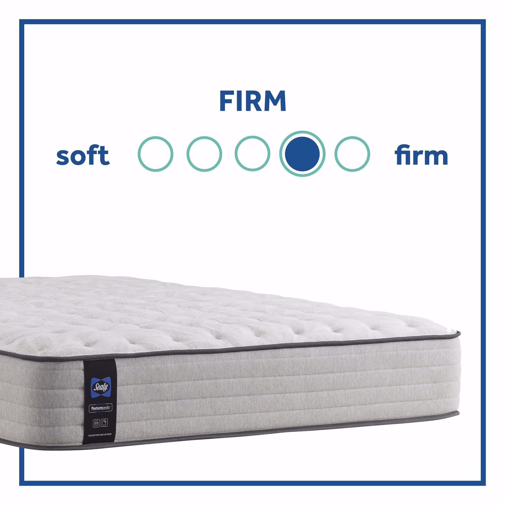 Picture of Posturpedic Summer Rose Firm Twin XL Mattress