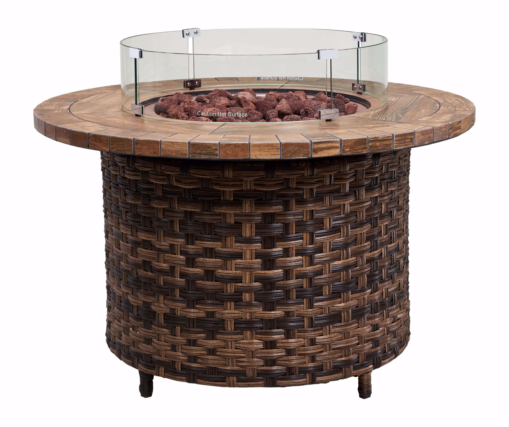 """Picture of Sea Isle 42"""" Round Firepit"""