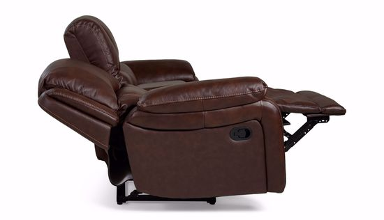 Picture of Casper Saddle Loveseat with Console