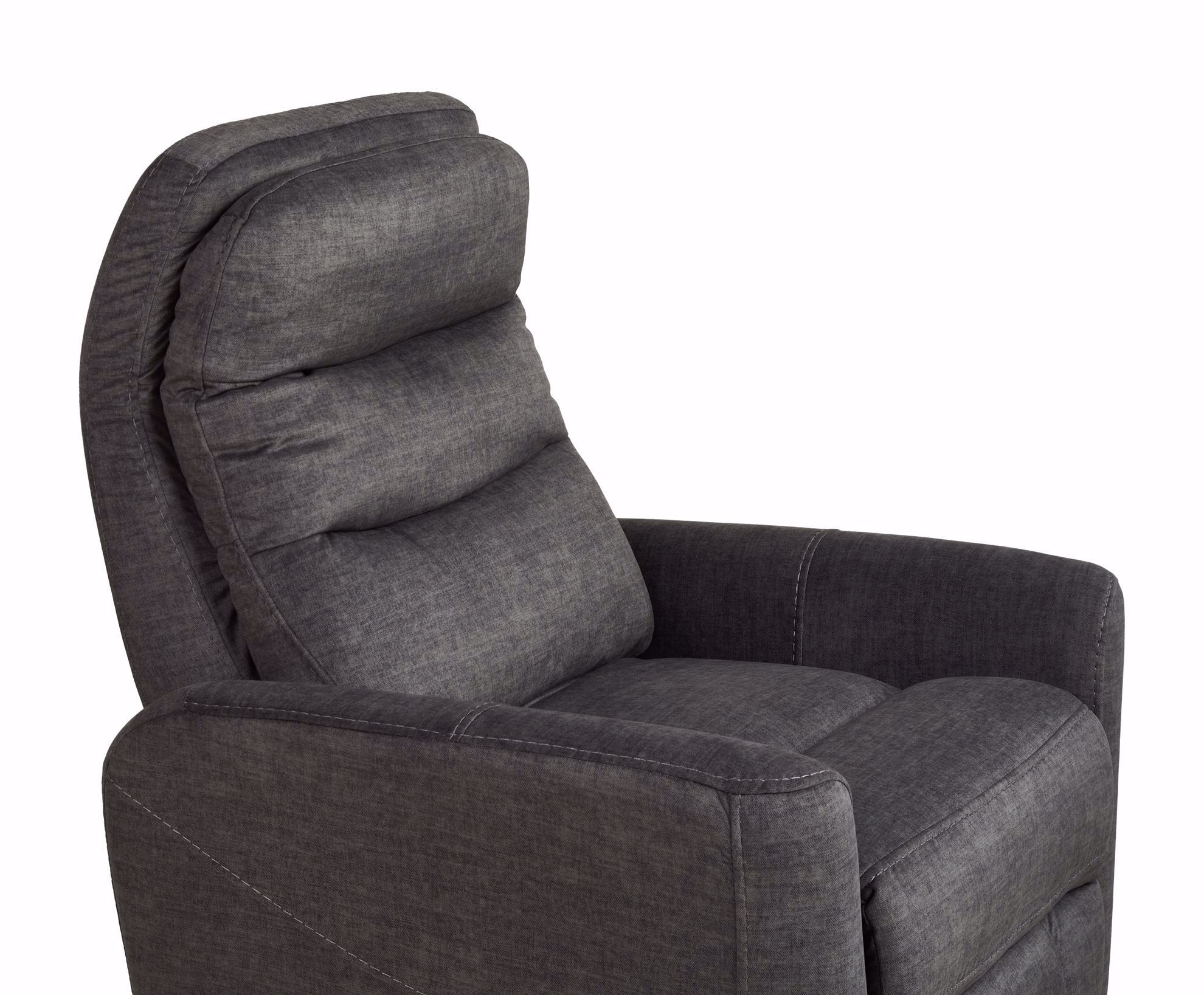Picture of Stormy Charcoal Swivel Gliding Recliner