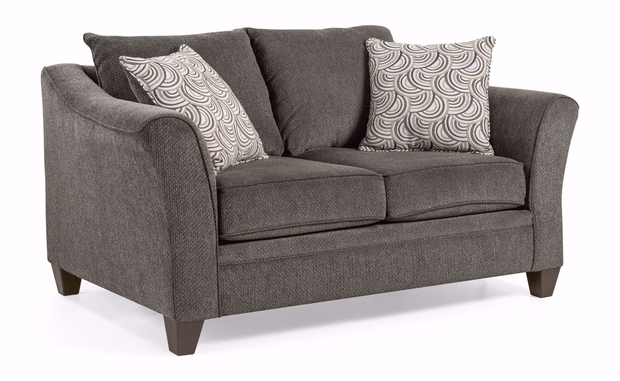 Picture of Albany Pewter Loveseat