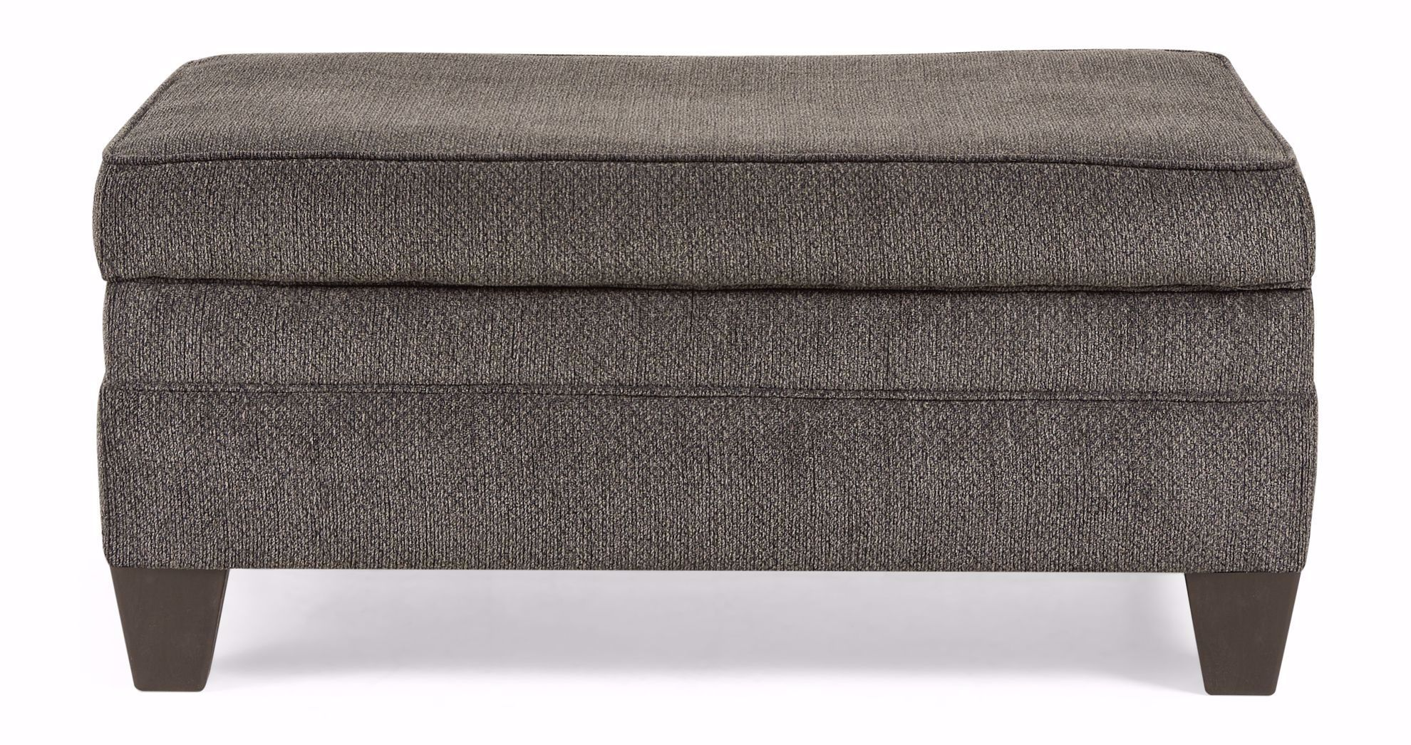 Picture of Albany Pewter Storage Ottoman