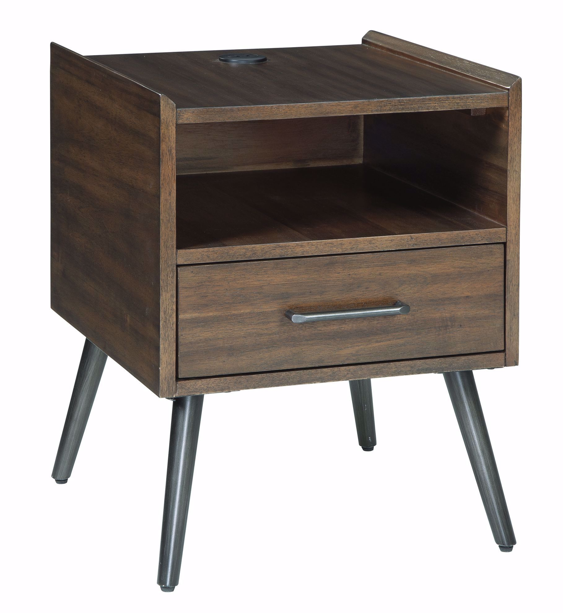 Picture of Calmoni Brown Square End Table