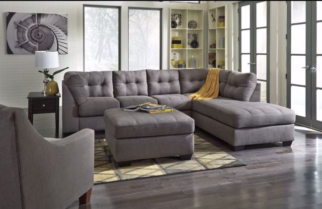 Picture of Maier Charcoal Two Piece Sectional