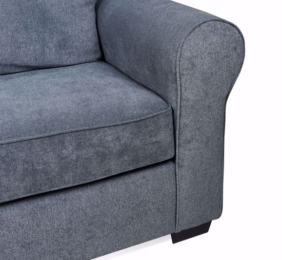 Picture of Slate Blue Sofa