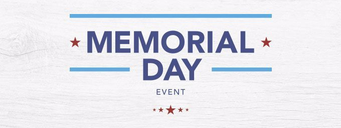 Memorial Day Event | 20%-50% off