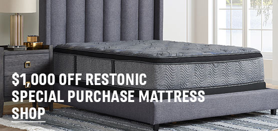 $1,000 Off Restonic Special Purchase Mattress