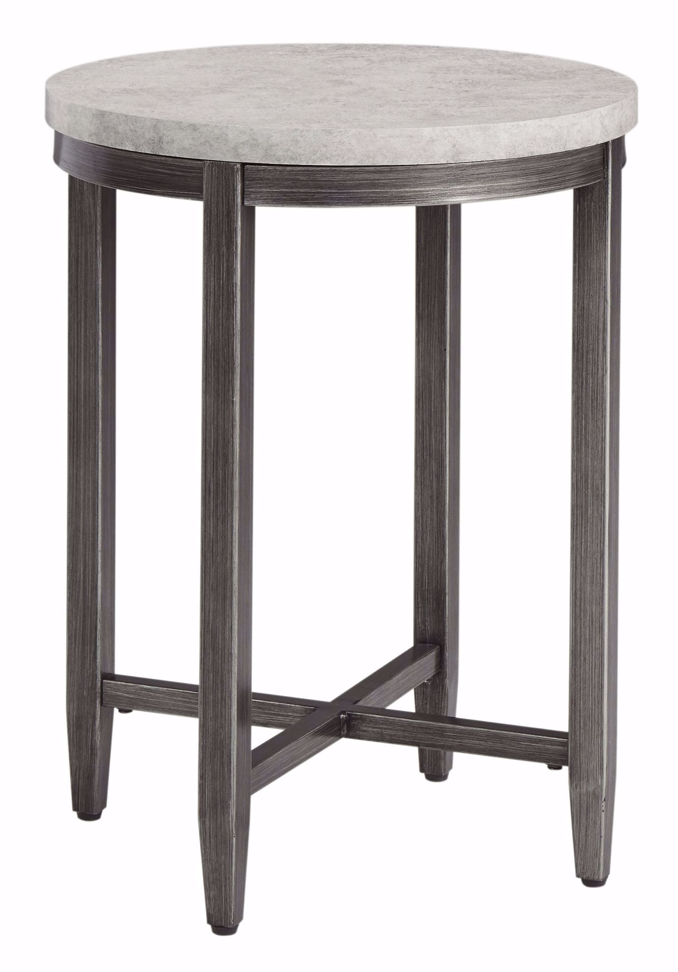 Picture of Shybourne Gray Round End Table