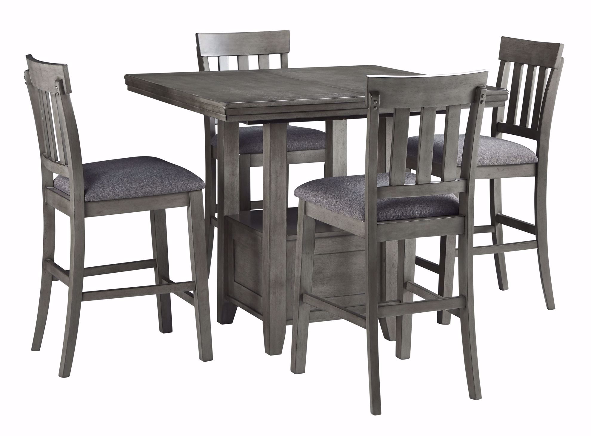 Picture of Hallanden Counter Height Table with 4 Stools