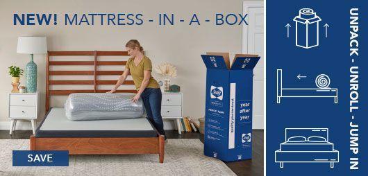 NEW! Mattress-in-a-Box