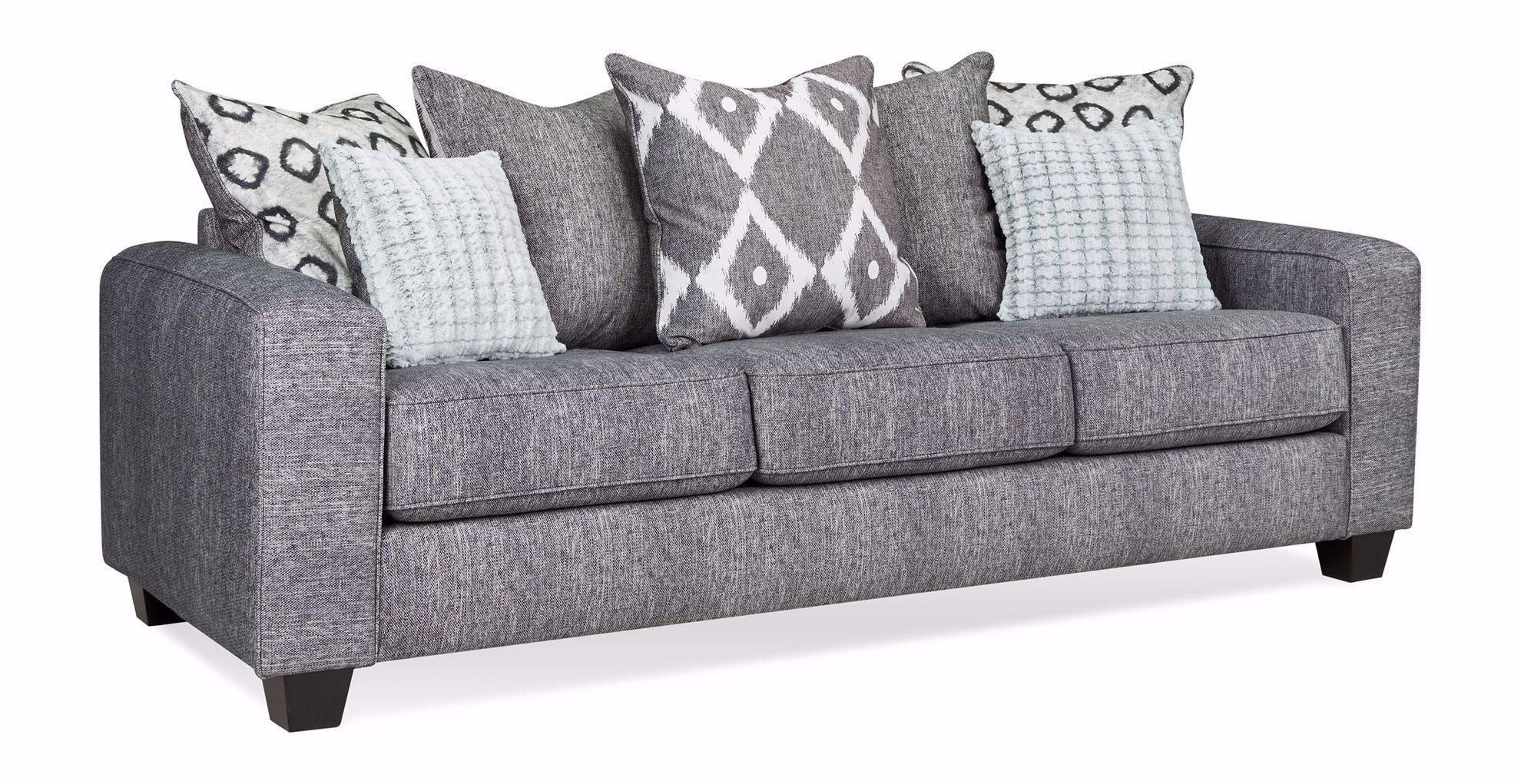 Picture of Stonewash Black Sofa