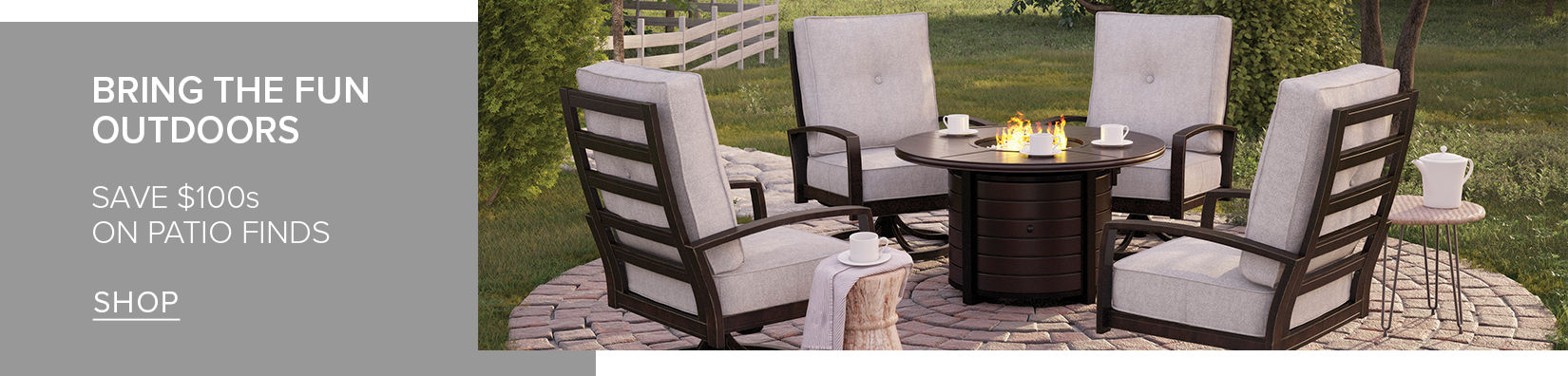 Bring the Fun Outdoors | Save $100s on Patio Finds