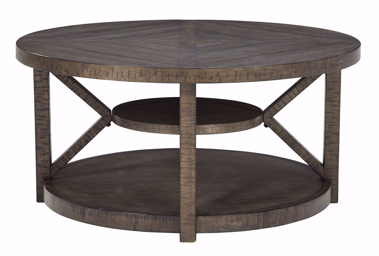 Picture of Jessoli Brown Round End Table