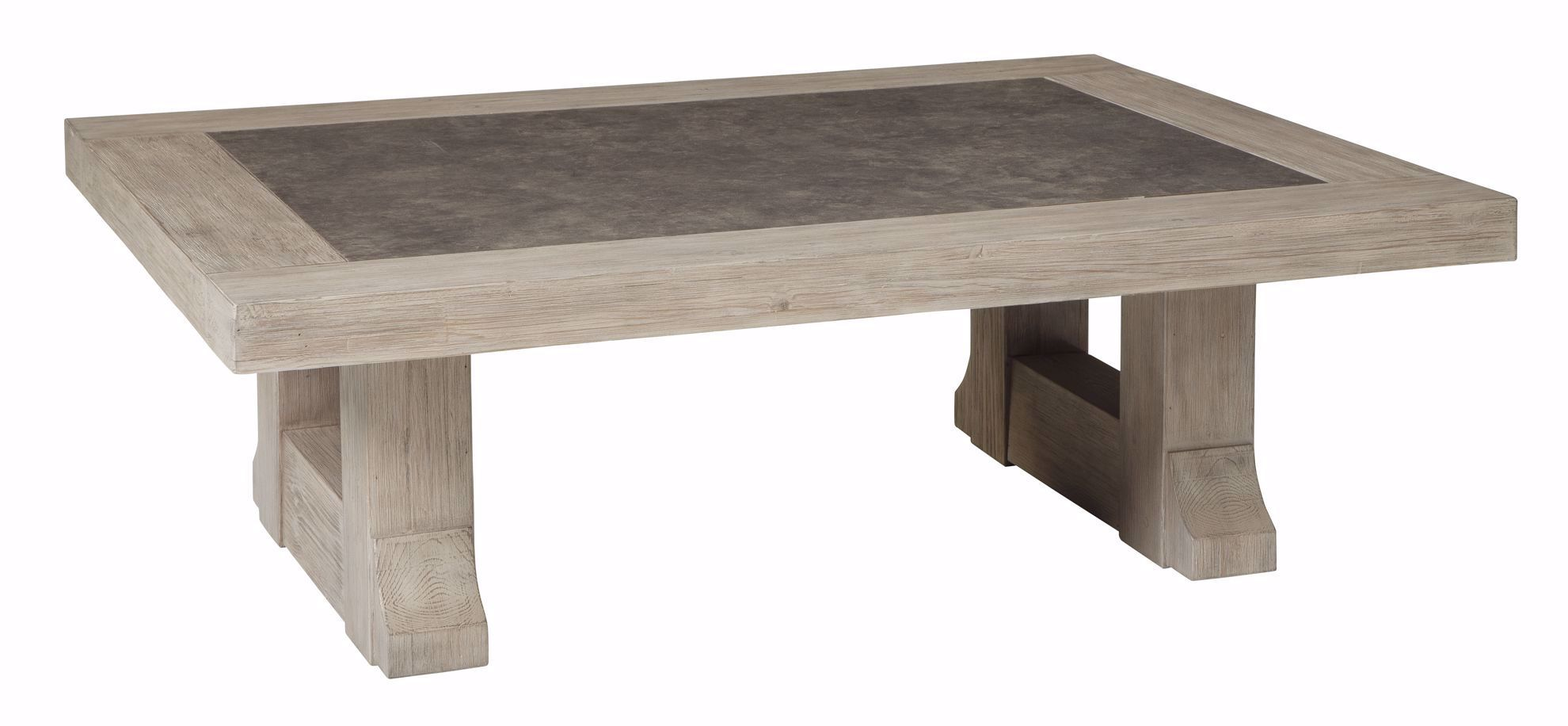 Picture of Hennington Brown Rectangle Cocktail Table
