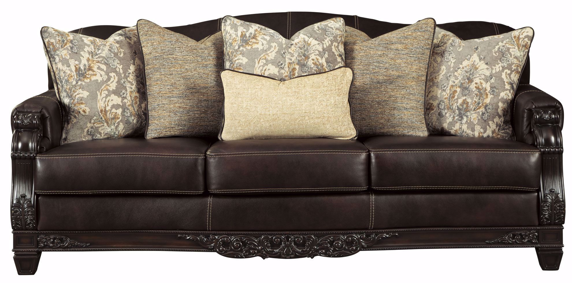 Picture of Embrook Chocolate Sofa