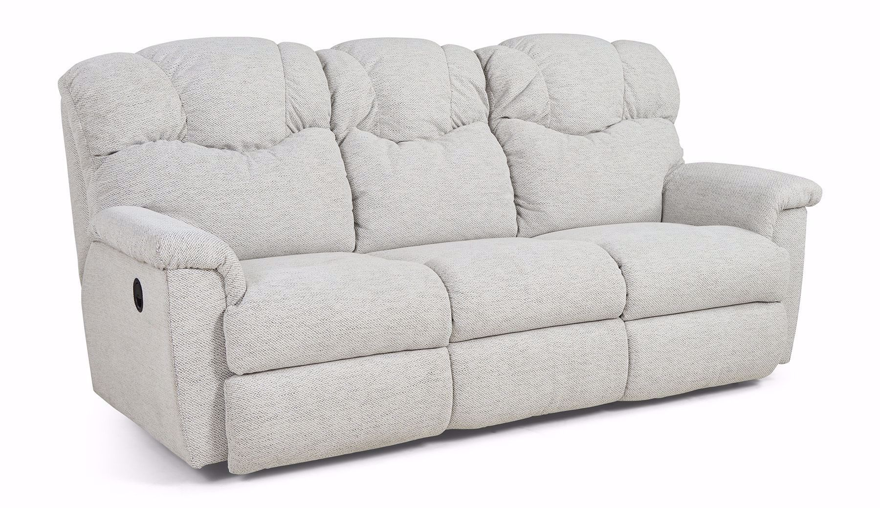Picture of Lancer Reclining Sofa Dove