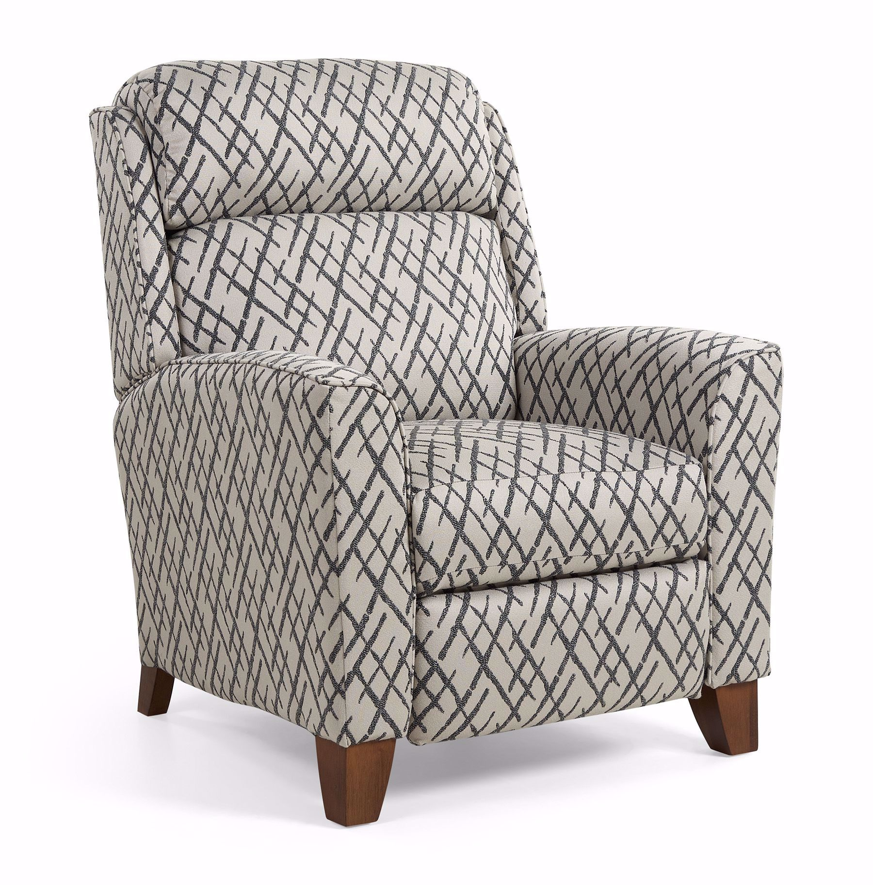 Picture of Rheeves Pushback Graphite Recliner