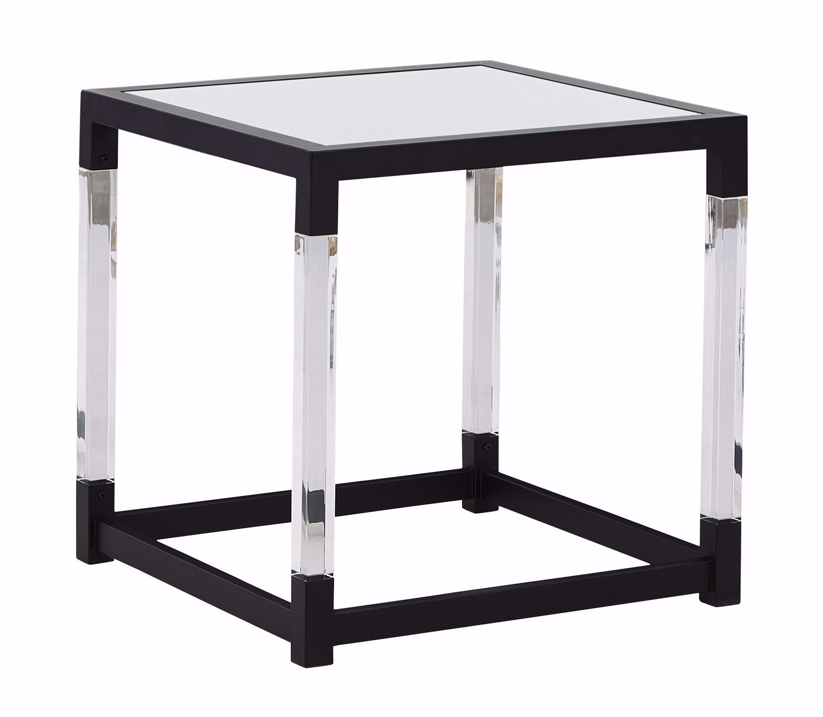 Picture of Nallynx Gray Square End Table