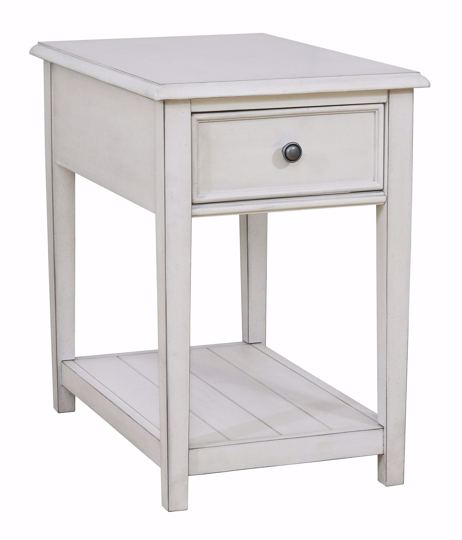 Picture of Kanwyn White Rectangle End Table
