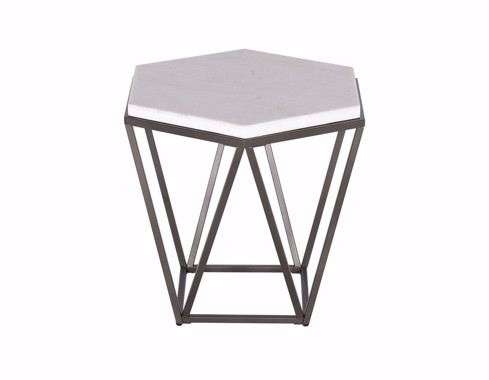 Picture of Corvus Hexagon End Table