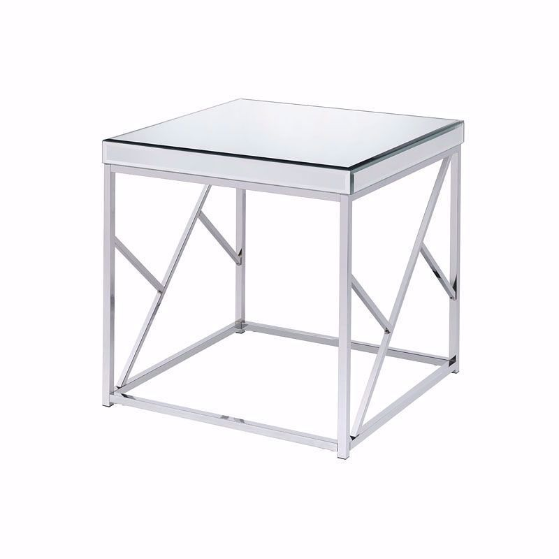 Picture of Evelyn Chrome End Table