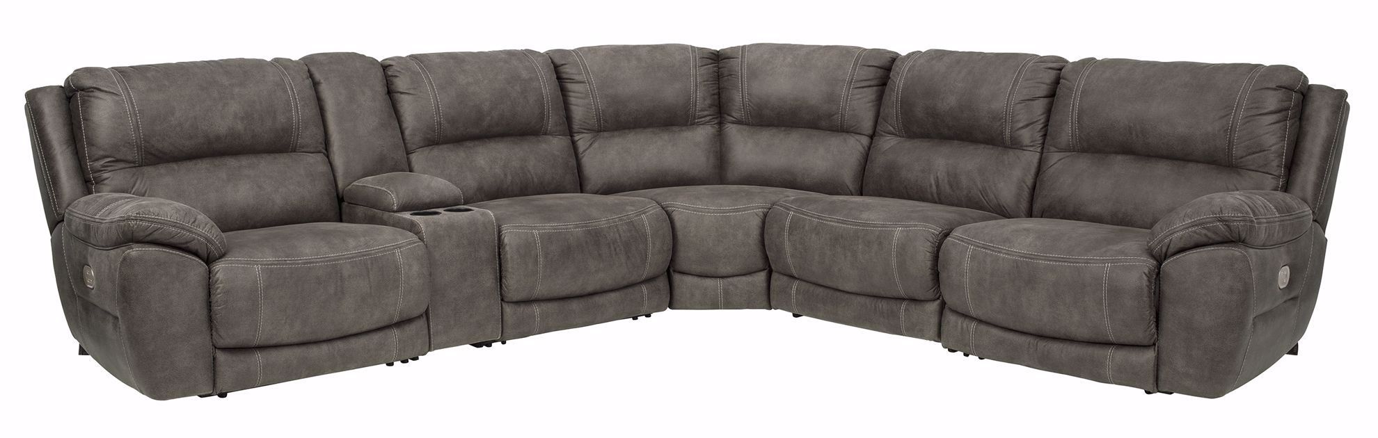 Picture of Cranedall Quarry 6-Piece Power Reclining Sectional