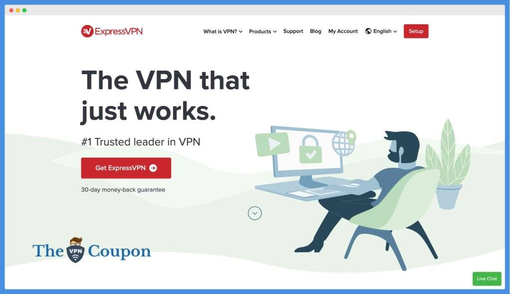ExpressVPN - Best VPN for Accessing Putlocker Alternatives