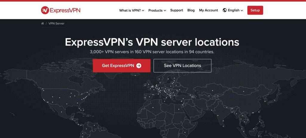 ExpressVPN Servers, Hulu Videoi Not Available