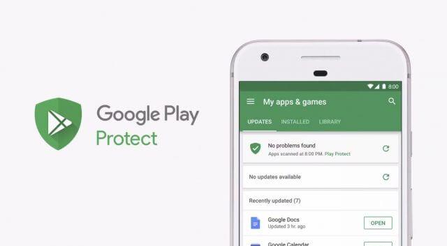 Setup Google Play Protect