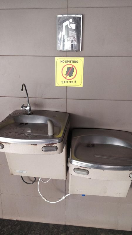 Drinking Water Facilities at the Mumbai Airport