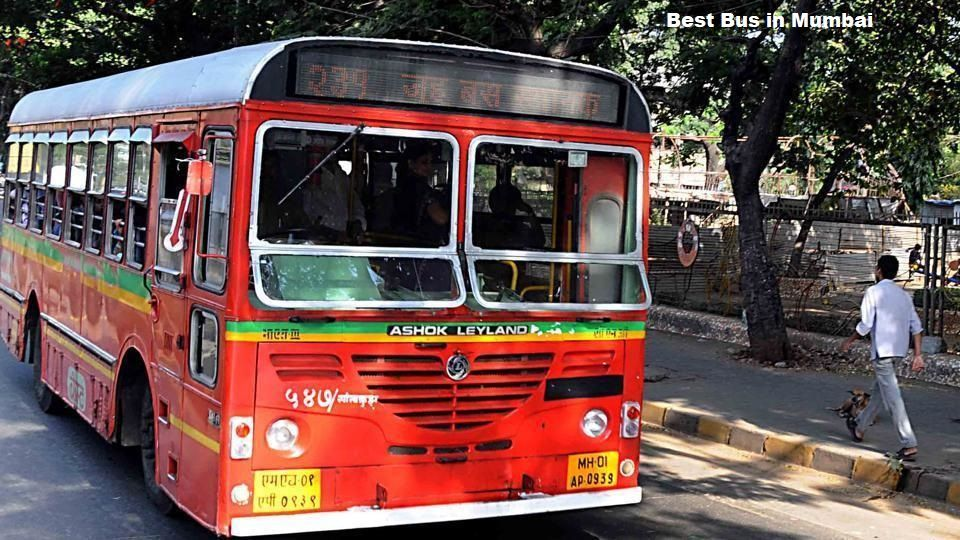 BEST Bus near Mumbai Airport