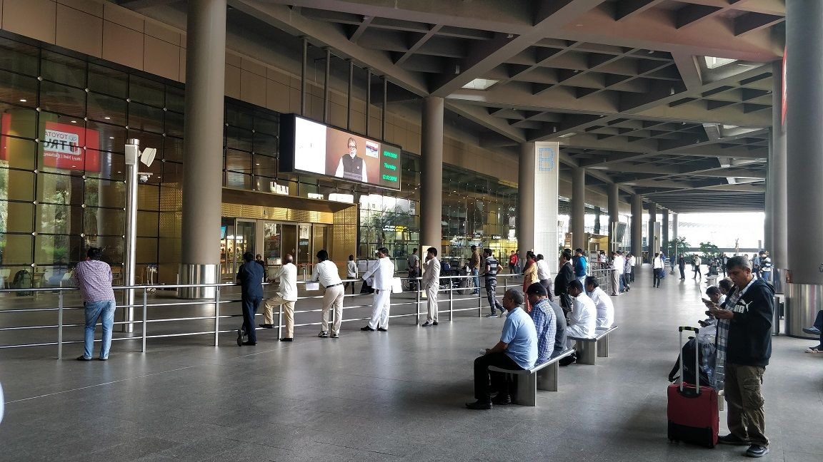 Arrivals Area Mumbai Airport