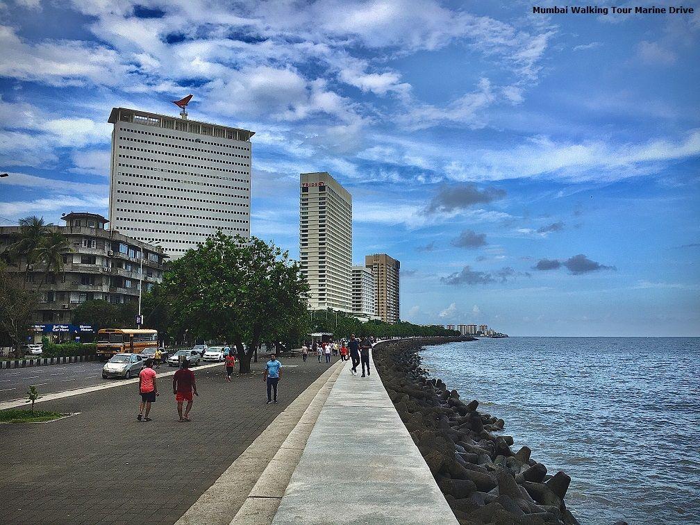 Mumbai Walking Tour Marine Drive 7 Day Itinerary India