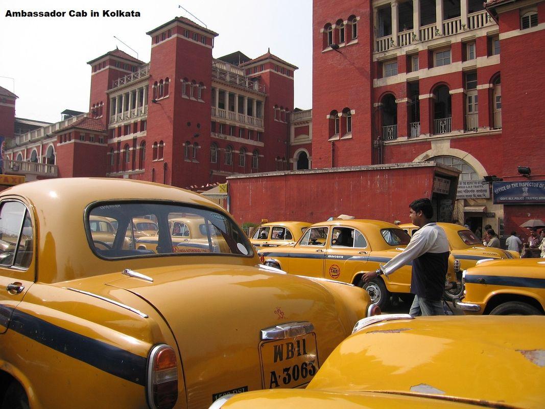 Kolkata Ambassador Taxi Cheap Flights To India