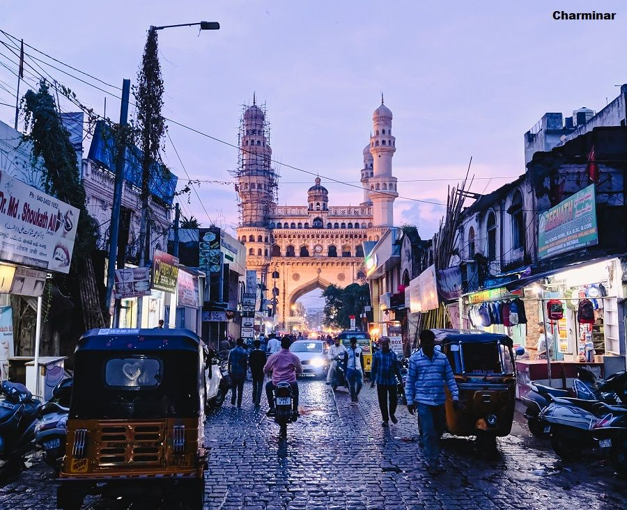 Charminar  in Hyderabad Cheap Flights To India