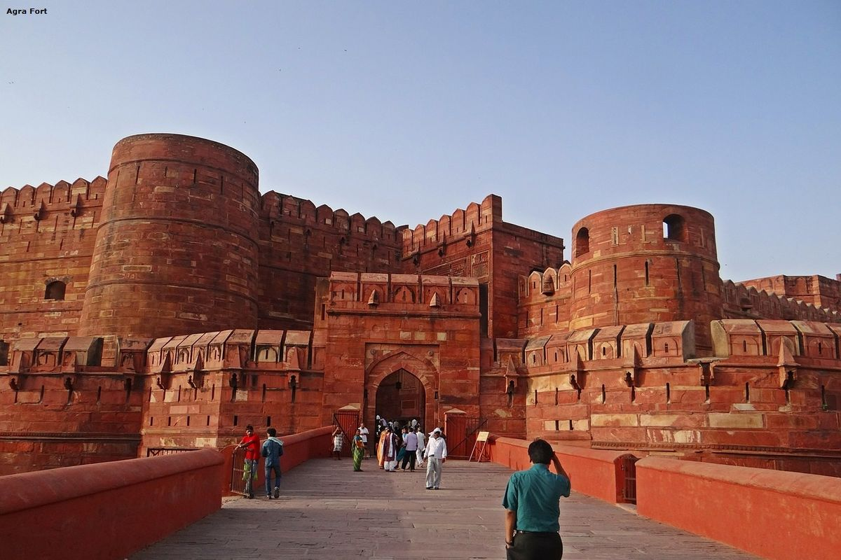 Agra Fort Golden Triangle India Tour