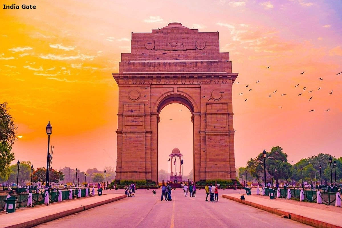 India Gate 2 Day Itinerary of Delhi
