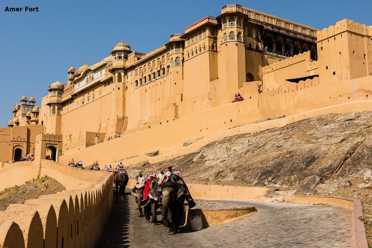 Amer Fort Amber Palace Jaipur 2 Day Itinerary