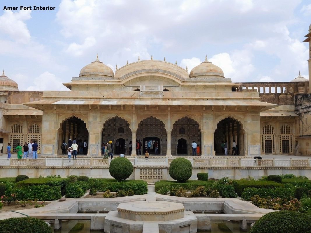 Amer Fort Interiors 2 Day Itinerary Jaipur